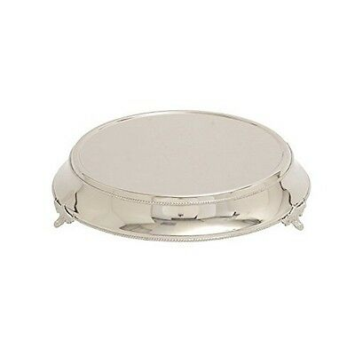 Deco 79 23920 Stainless Steel Cake Stand 18 by 4-Inch NEW
