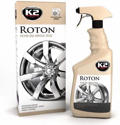 K2 Pro Roton Bleeding Rim Fallout Iron Remover Car Alloy Wheel Cleaner 700 mL