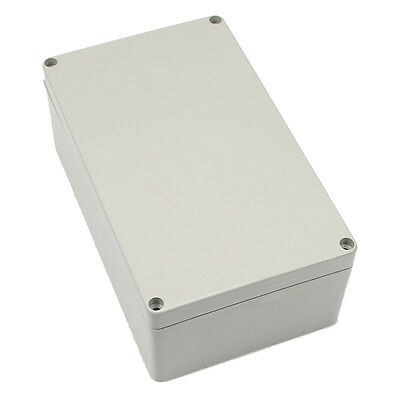 Gray-white Waterproof Plastic Project Box Enclosure 200*120*75MM ED