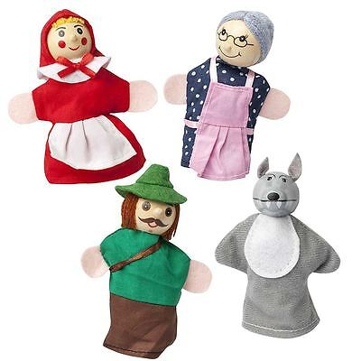 Little Red Riding Hood Finger Puppets Storytelling Props Childrens Toys