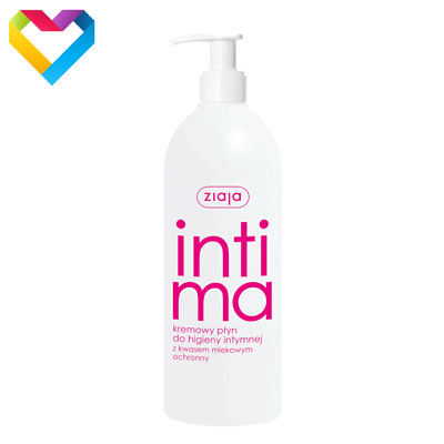 ZIAJA INTIMA - CREAMY WASH FOR INTIMATE HYGIENE WITH LACTIC ACID 00524 500ml
