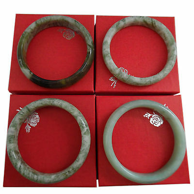 Chinese Jade Bangle Bracelet Boxed Gift Health Healing & Protection.