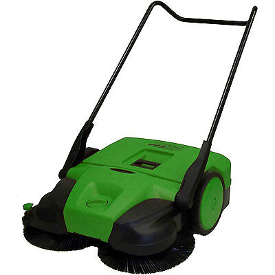 """Bissell 38"""" Deluxe Triple Brush Push Power Sweeper Turbo, 13.2 Gal. Capacity"""