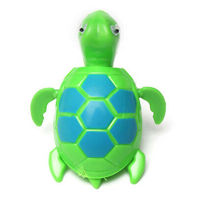 Floating Wind-up Swimming Turtle Summer Toy For Kids Child Children Pool Bath AD