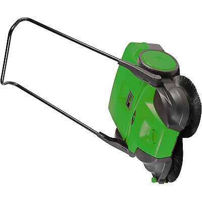 """Bissell 38"""" Battery Powered Triple Brush Push Power Sweeper, 13.2 Gal. Capacity"""