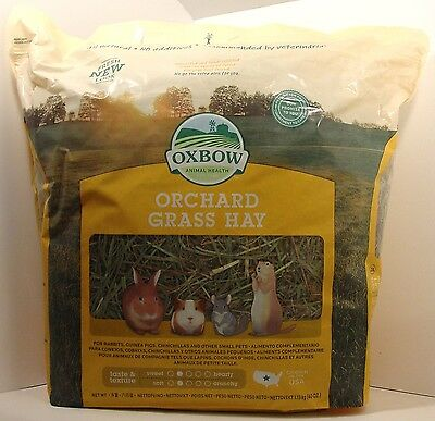 Oxbow Animal Health Orchard Grass Hay (40 oz)
