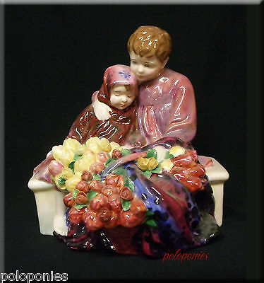 ROYAL DOULTON Flower Seller's Children HN1342 - Retired 1993