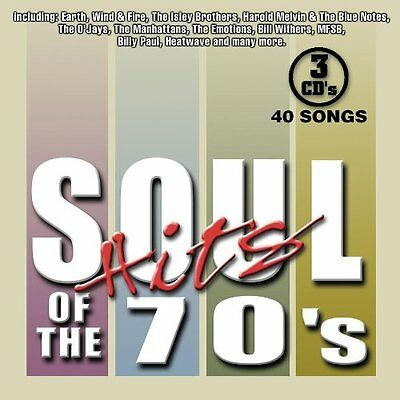 Various Artists (3-Pak)-Soul Hits Of The 70`S  (US IMPORT)  CD NEW