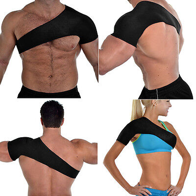 Charming Shoulder Brace Injury Dislocation Arthritis Pain Neoprene Support Strap