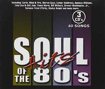 Various Artists (3-Pak)-Soul Hits Of The 80`S  (US IMPORT)  CD NEW