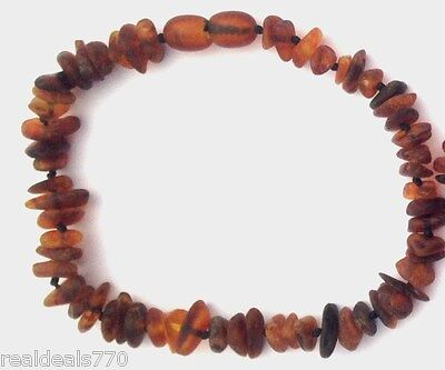 Amber Necklace For Pets - Natural Flea & Tick Repellent. Chemical Free. 23cm