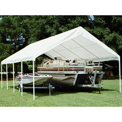 King Canopy 18' 20' Drawstring Cover 18' 20' / White TDS1820-5 Canopy NEW