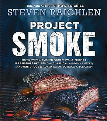 Project Smoke by Steven Raichlen (Barbecuing & Grilling) (Paperback) (BRAND NEW)