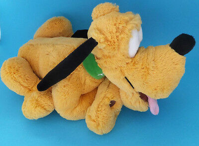 Disney Store London Pluto soft Plush Toy With Tags