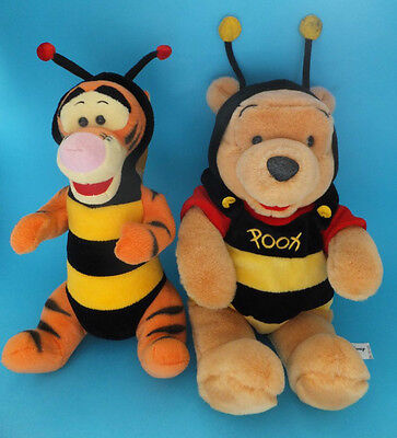 Walt Disney World Winnie The Pooh and Tigger Dressed as Bumble Bees
