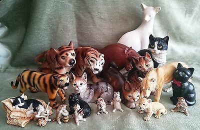 Cat Ornaments - Large and Small - collectable and 'just because'   -   REDUCED