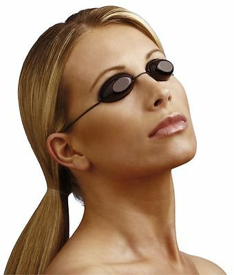 iGoggles Indoor & Outdoor Sunbed Protection Elastic Tanning Eye Goggles - 1 Pair