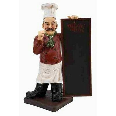 Deco 79 49427 Poly-Stone Chef Chalkboard 36 by 20-Inch NEW