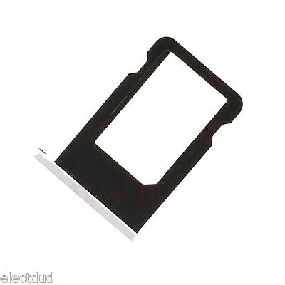 For iphone Sim Card Tray Slot Holder Part For Iphone 5C -WHITE