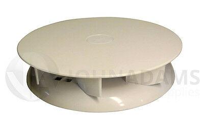 Low Profile WHITE Rotary Van Roof Vent Vauxhall Combo Movano Astra Van