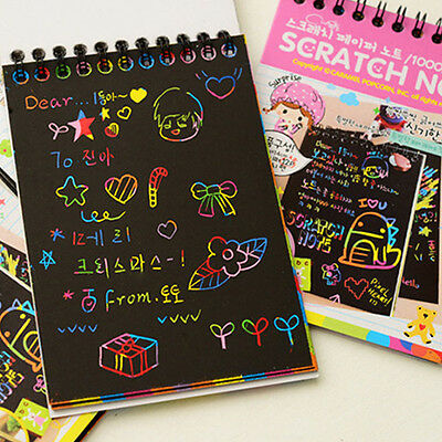 Stationery Set Notebook Wooden Stylus Scratch Paper Note Drawing Freehand