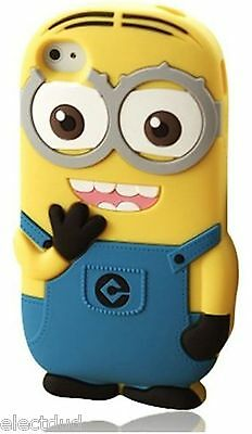 MINION Soft Skin Case Protector Case Cover for iPod touch 5 5th GEn