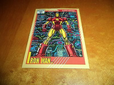 Iron Man # 13 - 1991 Marvel Universe Series 2 Impel Base Trading Card