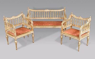 B-Gs-2 Very dainty Lounge suite in the Louis XVI style