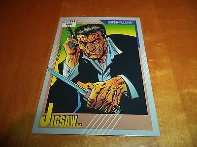 Jigsaw # 66 - 1991 Marvel Universe Series 2 Impel Base Trading Card