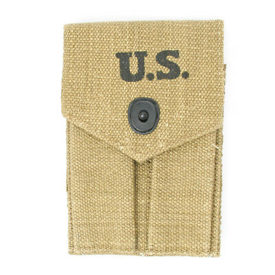 U.S. WWII .45 cal 1911A1 Pistol Double Magazine Pouch