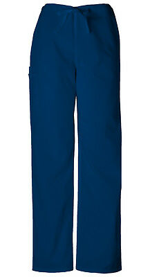 Scrubs Cherokee Workwear Men's Drawstring Pant 4100 NAVW Navy Free Shipping