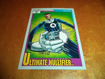 Ultimate Nullifier # 130 - 1991 Marvel Universe Series 2 Impel Base Trading Card