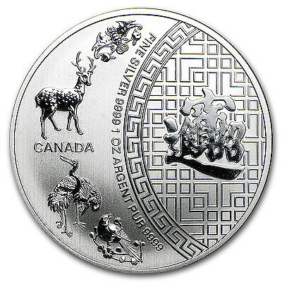 2015 Canada 1 oz Silver $5 Five Blessings - SKU #94878