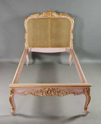 H-Kw-2 Pretty Bed in the antique and old Baroque Style of the Louis Quinze • £1,782.49