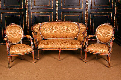 B-Dom-66 Elegante french Lounge suite in the Louis Seize Baroque Style