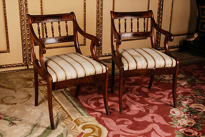 B-114 Pair Biedermeier Armchair Chair ca.1830