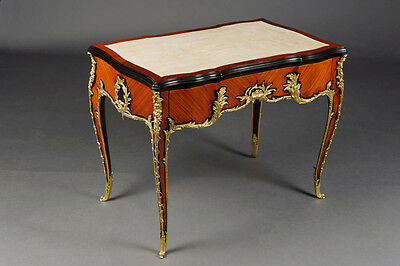 L-Sam-145 Desk Plat to François Left in the Louis XV Style