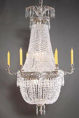 F-Ra-20 Exclusive classical Basket chandeliers Chandelier in the Empire Style