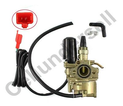 New Carburettor For Kymco Sym Peugeot Vertical Trekker 50cc engines Carb