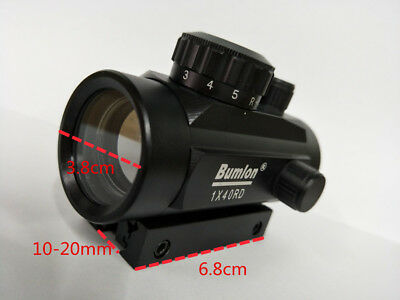 Tactical Hunting Holographic Reflex Laser Green Red Illuminated Dot Sight Scope