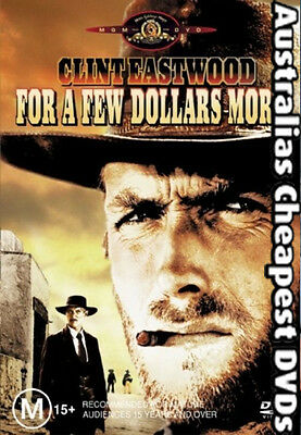 For A Few Dollars More DVD NEW, FREE POSTAGE WITHIN AUSTRALIA REGION 4