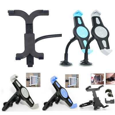 """Car Headrest/ Windscreen Glass Suction/ Table Mount For 7-10"""" iPad 4 3 2 Tablets"""