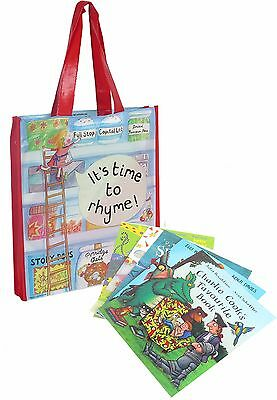 Peppa Pig: Fairy Tale Little Library 6 Books Children Collection Puzzle Gift Set