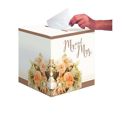 Scatola Contenitore Card Box Portabuste Regalo Matrimonio 318164 Bouquet Rose