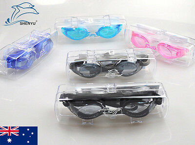 Prescription Anti-fog UV Swimming Protection Goggles Glasses for Shortsighted