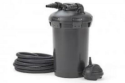 Pontec PondoPress 15000 Pressurised Pond Filter and Pump Set