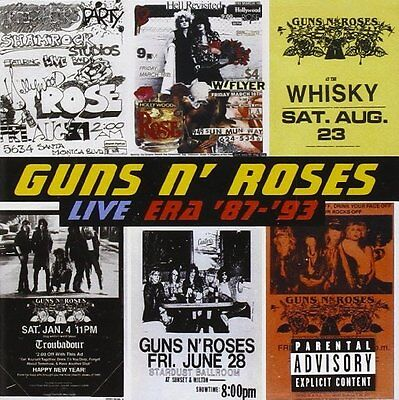 Guns N Roses Cd - Live Era '87-'93 [2 Discs](1999) - New Unopened - Rock Metal