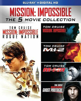 Mission: Impossible Blu-Ray - The 5 Movie Collection [5 Discs] - New Unopened