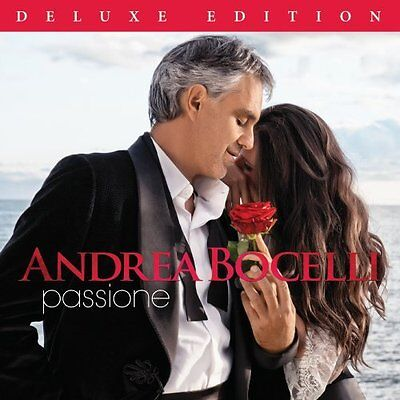 Andrea Bocelli Cd - Passione [Deluxe Edition](2013) - New Unopened
