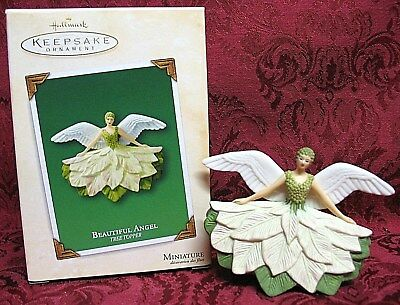 Hallmark 2003 Miniature Tree Topper~Beautiful Angel